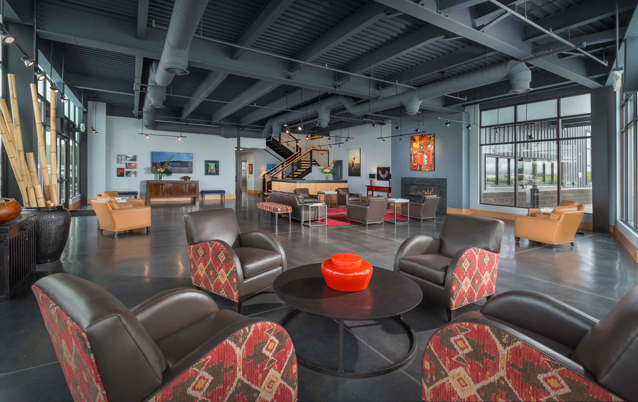 hillsboro aviation lobby seating